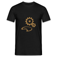 T-Shirts ~ Men's T-Shirt ~ Gears Steampunk T-shirt Men