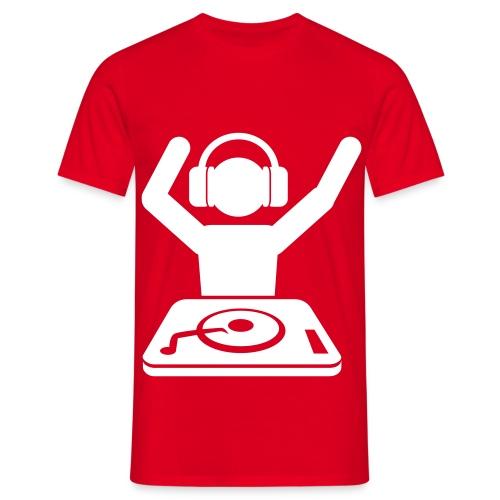 dj gear - Mannen T-shirt