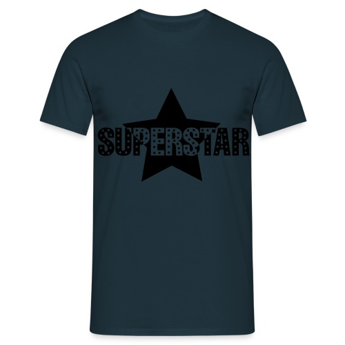 superstar - Mannen T-shirt