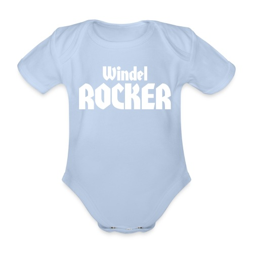 windelrocker - Baby Bio-Kurzarm-Body