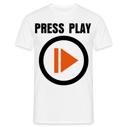 PRESS PLAY TEE - Men's T-Shirt