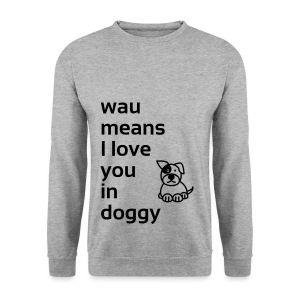 wau means - Männer Pullover