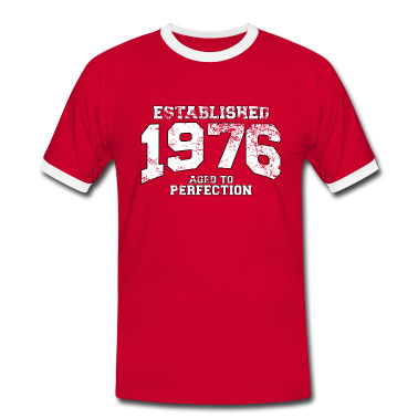established 1976 - aged to perfection (uk) T-Shirts