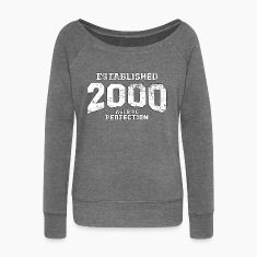 established 2000 - aged to perfection (uk) Hoodies & Sweatshirts