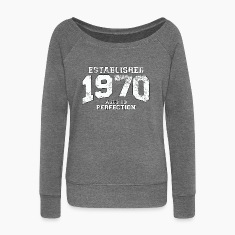 established 1970 - aged to perfection (uk) Hoodies & Sweatshirts