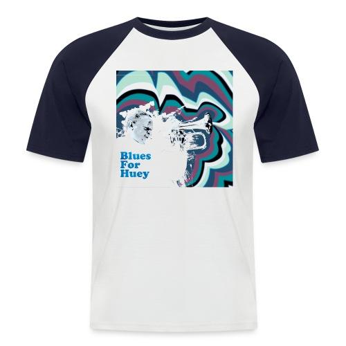 Hugh Masekela - Blues For Huey - Men's Baseball T-Shirt
