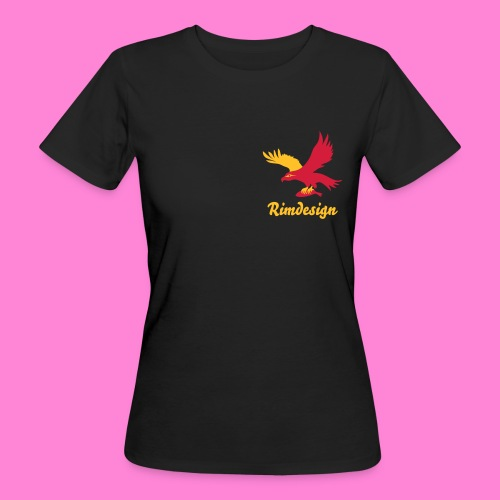 Bio Hawk shirt Rimdesign - Vrouwen Bio-T-shirt
