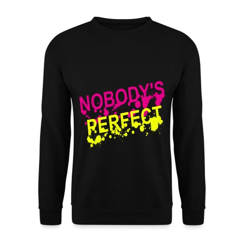 Pull homme nobody's perfect - Sweat-shirt Homme