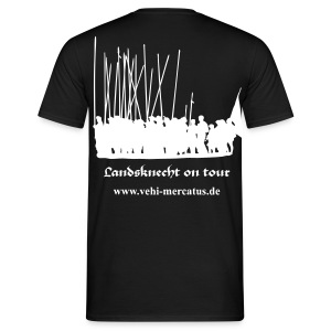 Landsknecht on tour mit Link BACK - Männer T-Shirt