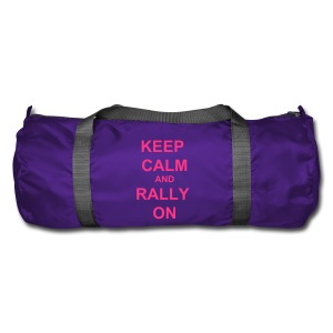 Keep Calm Holdall - Purple / Pink - Duffel Bag