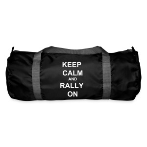 Keep Calm Holdall - Red / White - Duffel Bag