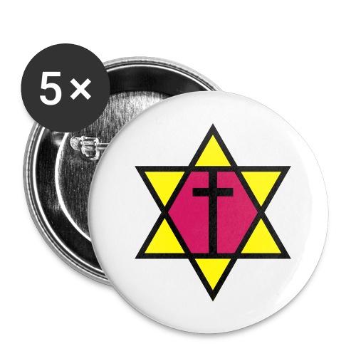 Cross Start - Sticker - Buttons klein 25 mm (5er Pack)