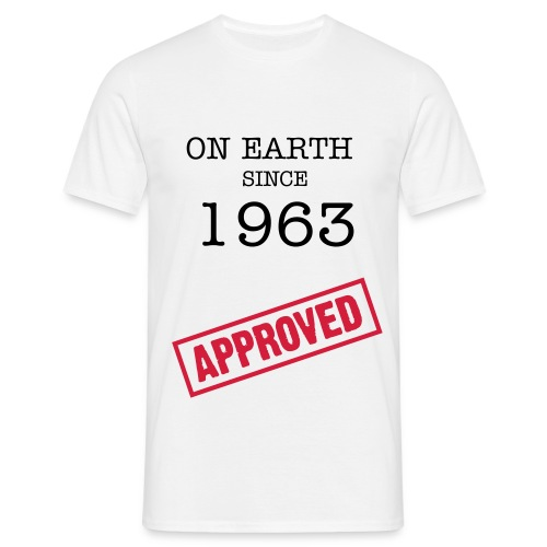on earth approved - Männer T-Shirt