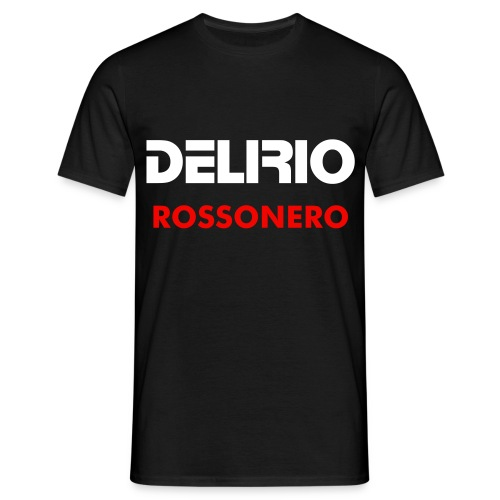 T-Shirt Delirio Rossonero - Men's T-Shirt