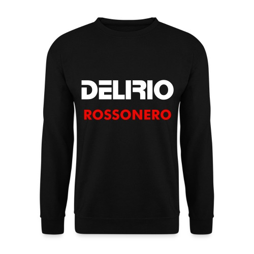 Felpa Delirio Rossonero - Men's Sweatshirt
