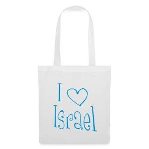 I love Israel - Stoffbeutel