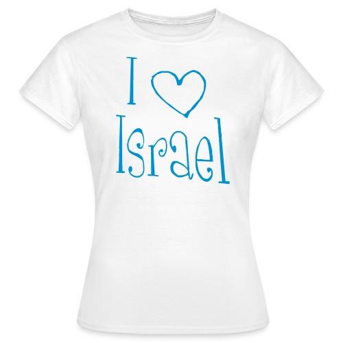 I love Israel - Frauen T-Shirt