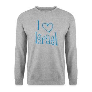 I love Israel - Männer Pullover