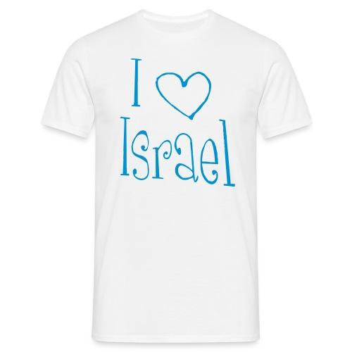 I love Israel - Männer T-Shirt