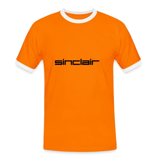 Sinclair orange - Men's Ringer Shirt