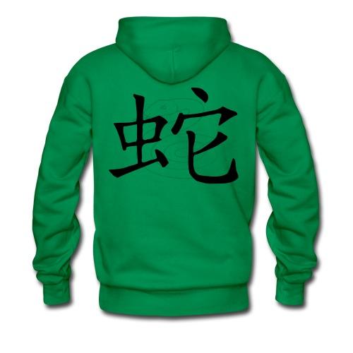 Astrologie Chinoise : le Serpent - Sweat-shirt à capuche Premium pour hommes