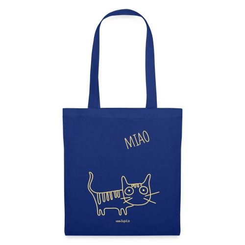 borsa gatto - Borsa di stoffa