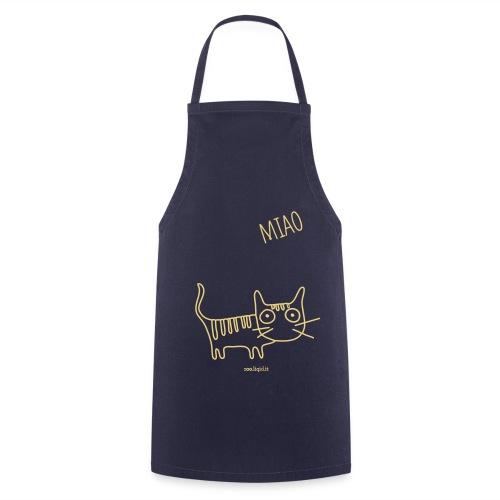 grembiule gatto - Grembiule da cucina