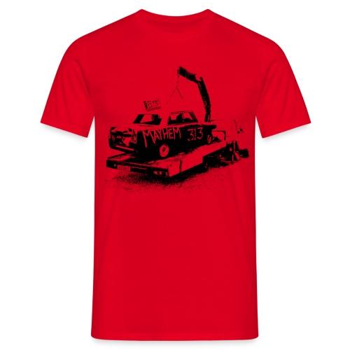 Mayhem Car - Men's T-Shirt
