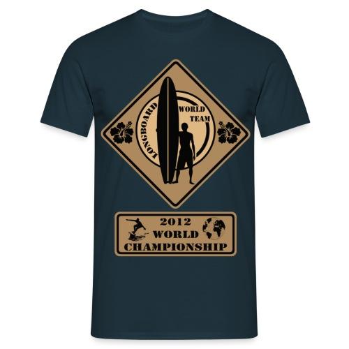 Longboard - Men's T-Shirt