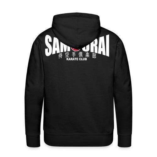 Sweat-shirt homme Samouraï - Sweat-shirt à capuche Premium pour hommes