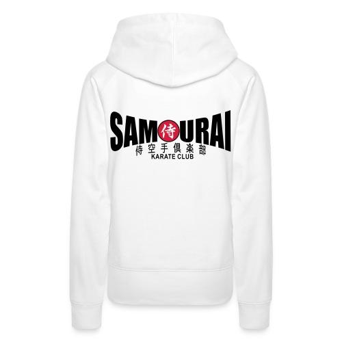 Sweat-shirt femme Samouraï - Sweat-shirt à capuche Premium pour femmes