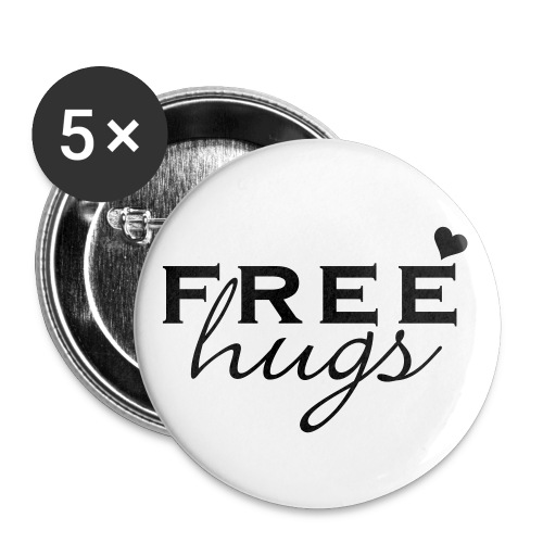 Buttons groß 56 mm - for a better World!!!