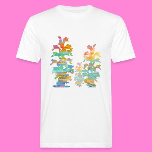 Orchideeënshirt bio - Mannen Bio-T-shirt