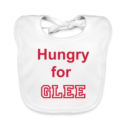 Hungry for Glee - Baby Organic Bib