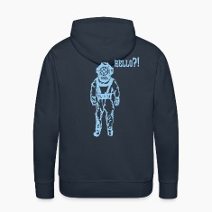 diver blue Hoodies & Sweatshirts