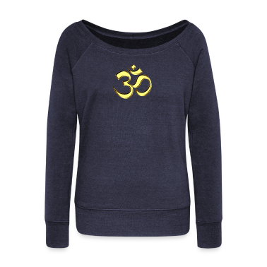 Sacred OM (AUM - I AM), gold, manifestation of spiritual strength, The energy symbol gives , peace and bliss H