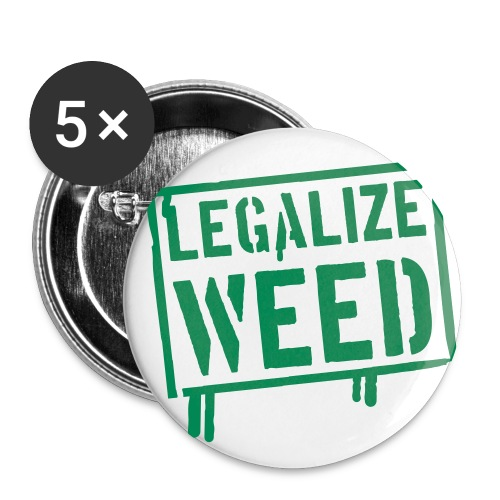 ACS Button Legalize - Buttons small 1''/25 mm (5-pack)