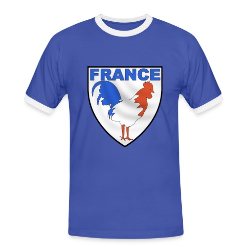 Tee-shirt homme France - T-shirt contrasté Homme