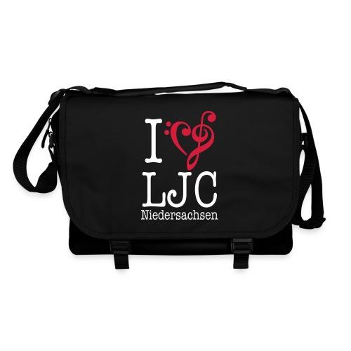 I♥LJC, Tasche schwarz - Umhängetasche