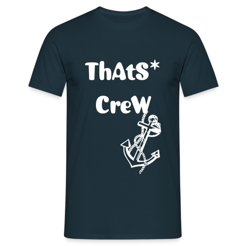 T-shirt ThAtS* CreW ancre - T-shirt Homme