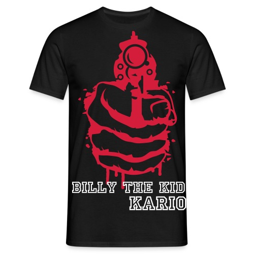 Kario (Billy the Kid) - Männer T-Shirt