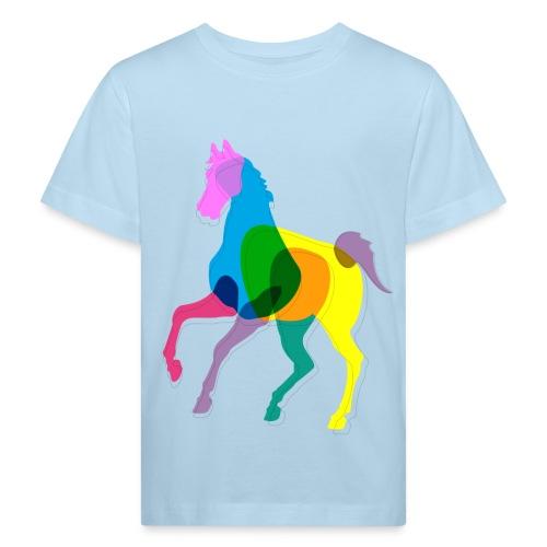 Lasten ympäristöystävällinen heppa-paita - Lasten luonnonmukainen t-paita