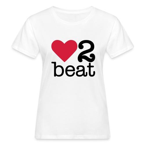 Vrouwen Bio-T-shirt - Heart2Beat shirt van team Isabelle, team rood. The ultimate dance battle!