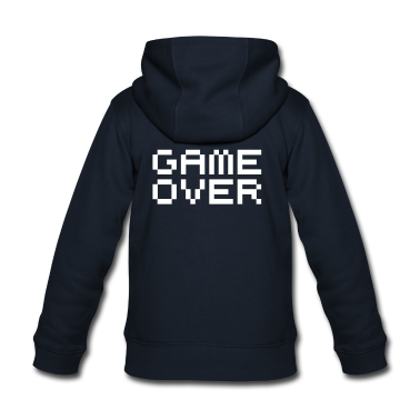Game over / game over pixels Kids' Tops