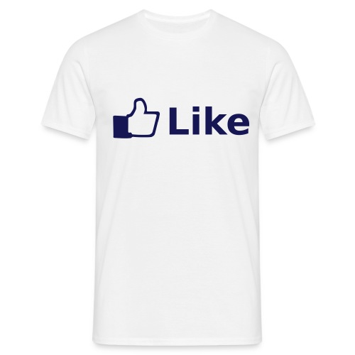 Men- FB Like - Mannen T-shirt