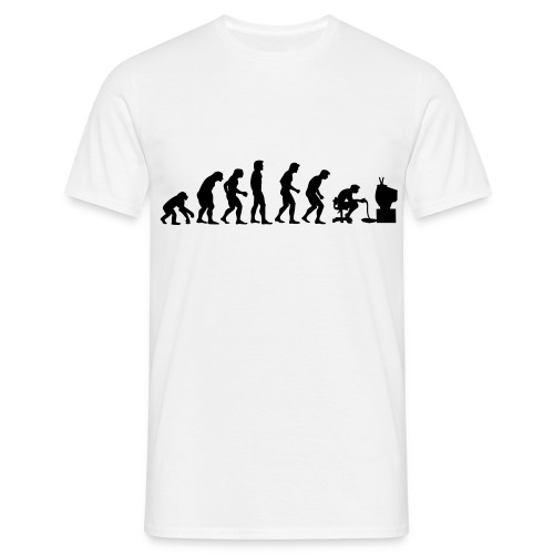 men - gamer evolution - Mannen T-shirt