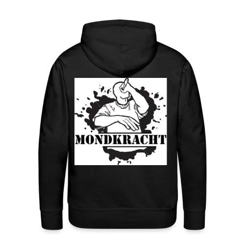 Mens hoody logo back - Mannen Premium hoodie