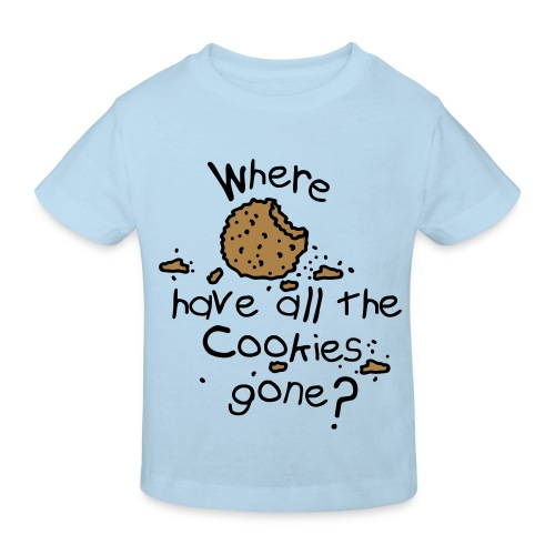 cookies gone? - Kids' Organic T-shirt
