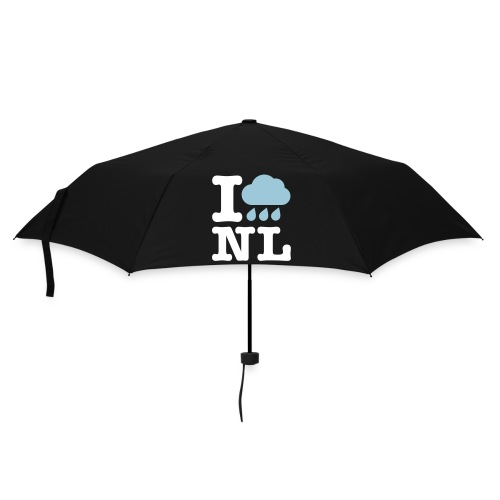 Ik haat regen i love holland. - Paraplu (klein)