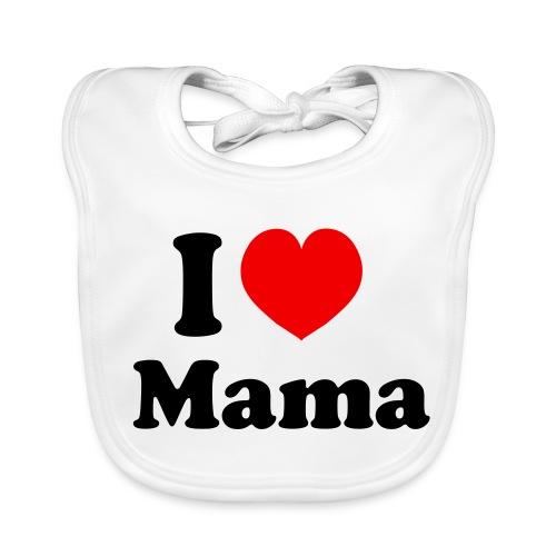 I love mama - Bio-slabbetje voor baby's